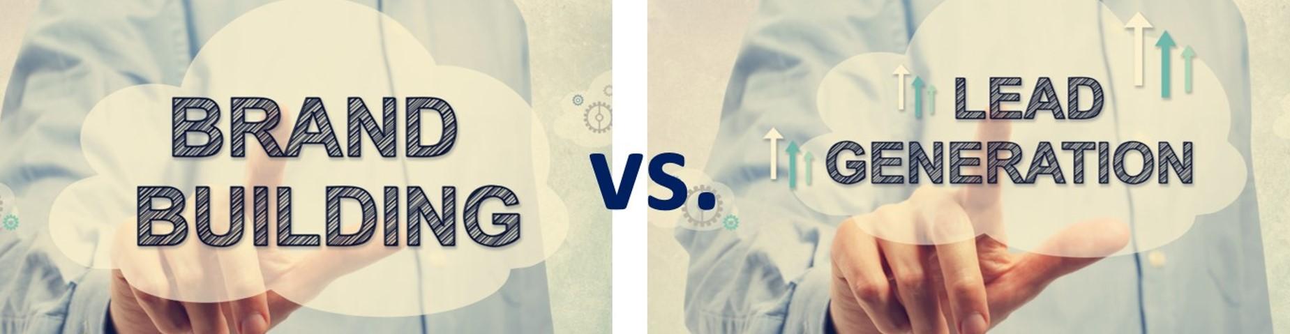 Staff picks - brand awareness vs lead generation